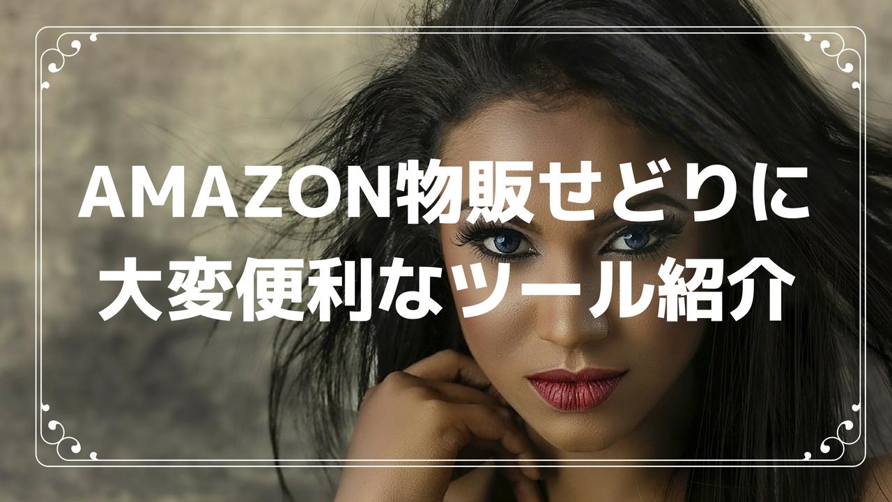 Amazon物販せどりに大変便利なツール紹介